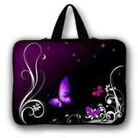 """7"""" 12"""" 14"""" 15"""" Laptop Notebook Computer PC Handle Sleeve Case Bag Cover Pouch LD"""