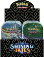 Pokemon Shining Fates Mini Tin Box Display Sword & Shield 4.5 Englisch TCG