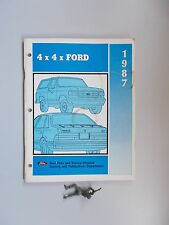 1987 Ford 4X4 Training Guide Book Manual *FREE SHIPPING*