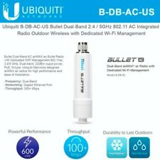 Ubiquiti AirMax AC B-DB-AC-US Bullet, Dual-Band, AC US Version.