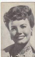 JANET  BLAIR -  hollywood  MOVIE  STAR/actress 1940s  arcade/exhibIit card