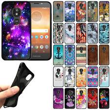 For Motorola Moto E5 Play / E5 Cruise TPU Black Silicone Soft Gel Cover Case