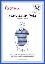 Farbenmix/Mer Baltique une pirate motifs de coupe-Sportif Polo-Monsieur Polo
