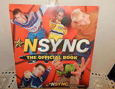 1998 NSYNC~THE OFFICIAL BOOK~96 PAGES~LOTS OF COLOR PHOTOS~BANTAM DOUBLEDAY BELL