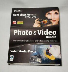 Corel Video Studio Pro X2 & Paint Shop Pro Ultimate Photo X2