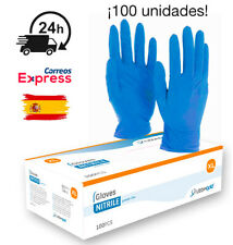 100 Guantes de Nitrilo EN STOCK -XL- Envío desde España 24h