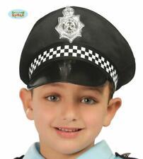 Gilet di Polizia Cappello Bambino Costume PC POLIZIOTTO SWAT SERGENTE PANDA Bambini Ragazzi Ragazze