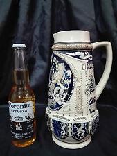Jarra de Cerveza de porcelana fabricada Alemania Escudo de armas belgica 2Litros