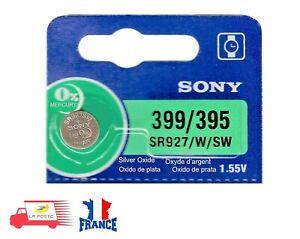 1 Bouton Pile Montre SONY 399 / 395 SR927/W/SW 1,55 V
