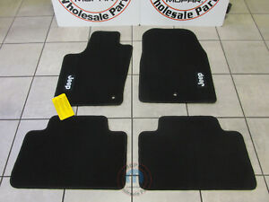 JEEP Grand Cherokee 2011-2012  Black Premium Floor Mats NEW OEM MOPAR