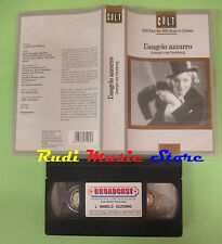 VHS film L'ANGELO AZZURRO Joseph von Stenberg 90 minuti BROADCAST (F51) no dvd