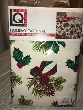 Holiday Cardinal Tablecloth Brand New Red/Green