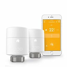 Tado Smart Radiator Thermostat Starter Kit Vertical Mounting - Duo (2) Pack New