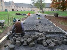 Altes Basalt Pflaster Lavabasalt  Natursteinpflaster
