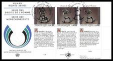 Nations Unies (Série les droits de l'homme) 1992 FDC - 3