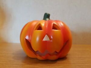 Halloween decoration Ceramic Pumpkin tealight Holder