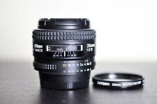 Nikon AF 35mm F2 D Prime FX Lens w/ UV Filter - US Model & MINT!