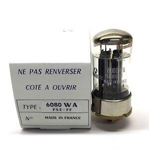 6080WA  6080  NOS Thomson csf France Valve Tubes