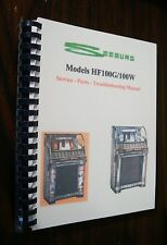 Seeburg G & W Jukebox Manual