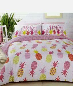 Rapport Havana Aloha Pineapple Double  Duvet Set CHEAPEST ON EBAY