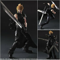 Play Arts Kai Final Fantasy 7VII Advent Children Cloud Strife Figure Model Toy