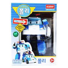Police Robocar Poli Transformation Robot Car Toys South Korea Thomas Kids Gift