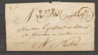 1831 Lettre marque linéaire P23P/MAREUIL 34*11, DORDOGNE X4136