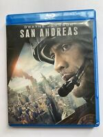 San Andreas (Blu-ray/ Dvd) Dwayne Johnson 2015 Action Movie Fault Line PG13 Good