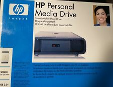 HP Personal Media Drive hd3000s 300gb With Power Supply and Box  - Free Shipping