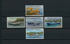 Guernsey  227-31  MNH, Inter-Island Transportation, 1981