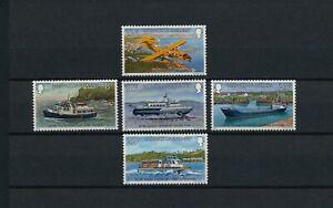 Guernsey  227-31  MNH, Inter-Island Transportation, 1981