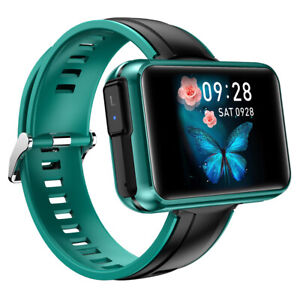 Large Screen Bluetooth Smart Watch Phone Music Player Fitness Heart Rate Tracker