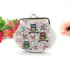 Womens Owl Wallet Card Holder Small Mini Coin Purse Clutch Handbag Free Shipping
