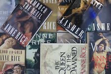 Lot of 5 Anne Rice Gothic Fiction Hardcover Books MIX
