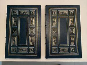 Easton Press - Leather - Ernest Hemingway  - Carlos Baker - 2 volumes