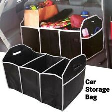 2-in-1 Car Boot Organiser Heavy Duty Collapsible Foldable Shopping Tidy Storage