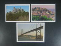 Lot Of 3 Beautiful Postcards From Portugal 2 Lisbon and 1 Sintra