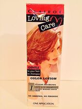 Loving Care 75 Light Ash Brown Color Lotion Hair Color Clairol