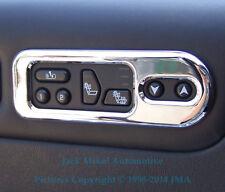 Chrome Billet Aluminium Seat Heat Indicator Bezels ALL Window Option HUMMER H2