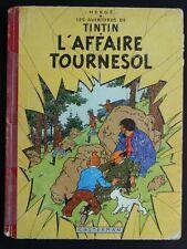 TINTIN L'affaire tournesol B19 1956 EO française EC