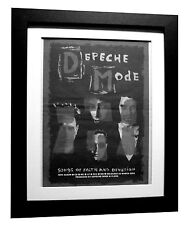 DEPECHE MODE+Faith Devotion+POSTER AD+RARE+ORIGINAL+1993+FRAMED+FAST GLOBAL SHIP