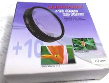 67mm Macro +10 Close-Up Lens Filter No.10 For DSLR SLR Film Digital Camera 67 mm