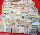 New banknotes 102 Different world paper money collection ,All Genuine