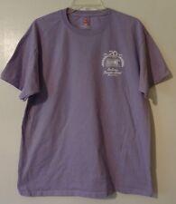 "Harness Racing T-Shirt ""Indiana Standardbred Association"" Purple L Large"