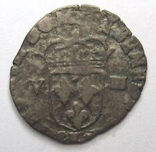 Henri IV-ecu 1/8 to the 1608-leafy cross k-bordeaux -