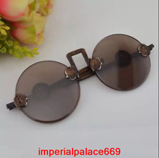 Nineteenth Century antique Natural crystal Old Shanghai Sunglasses  h1957
