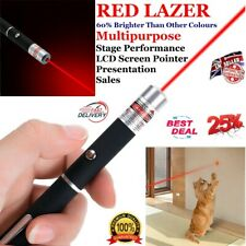 More details for powerful red laser pointer pen lazer strong  light 900 mile professional pet toy