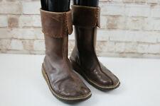 Clarks Originals Brown Leather Boots size Uk 4D