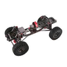 1:10 RC Rock Crawler Chassis Kit mit 4 Rad Ersatzteilen für Axial SCX10