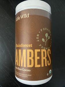 Life Wild Rainforest Ambers Nutritional Supplement | USDA Organic Plant-Based Po